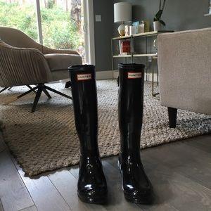 Glossy Hunter Boots